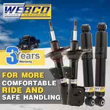 nissan elgrand western australia front u0026 rear webco elite shock absorbers nissan elgrand e51 4wd 2wd