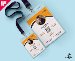 id card graphic design download photo identity card template psd psddaddy com