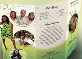 Cheap Funeral Programs Decorative Tri Fold Funeral Program Godserv Market