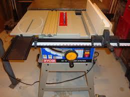 ryobi table saw blade size ryobi bt3100 table saw review sawinery