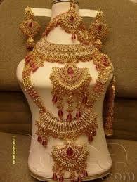 gold set in pakistan bridal jewellery set for rent in karachi pakistan 03332280641