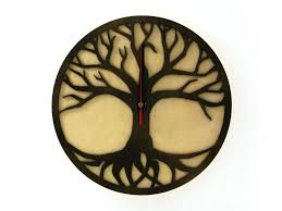 Wooden Wall Clock Indigovento U2013 Unique Wooden Clocks Original Clocks Made Of Wood