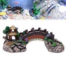 aliexpress buy aquarium resin bridge landscape fish tank