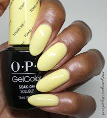 opi gelcolor towel me about it simply into my nails