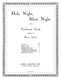 Meilleur Marque De Piano Stille Nacht Heilige Nacht H 145 Gruber Franz Xaver Imslp