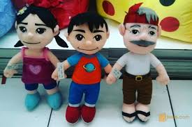 film kartun untuk anak bayi boneka tokoh serial film kartun si kakak aris si adek ara kakek