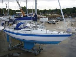 1984 holman and pye red admiral 36 sail boat for sale