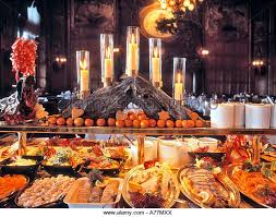 traditional buffet sweden stockholm traditional christmas buffet stock photos