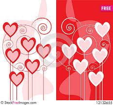 greeting card design with hearts free stock photos images