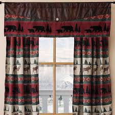 moose mountain window treatments cabin place