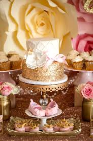 pink and gold baby shower ideas pink and gold baby shower cake picture karas party ideas pink gold