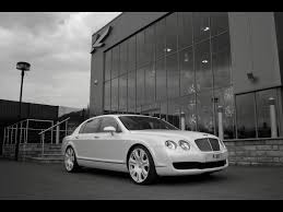 bentley flying spur white 2009 project kahn pearl white bentley flying spur front and side