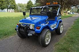 small jeep for kids s618f small blue jeep wrangler ride on car for kids 2 7 years old
