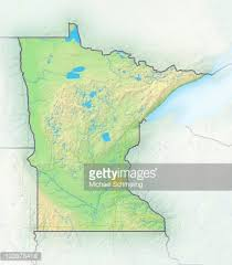 minnesota topographic map minnesota topographic map stock photo getty images