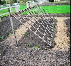 cuke trellis idea outdoor aspiration pinterest for a u003cbr