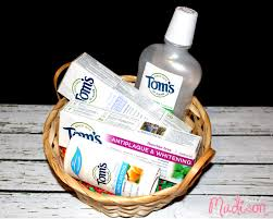 maine gift baskets celebrate earth day with toms of maine naturalgoodness