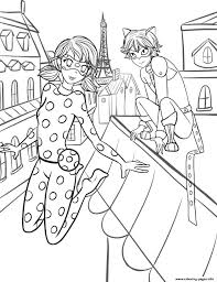 miraculous ladybug by stella1999 coloring pages printable