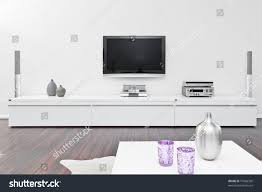 Living Room With Tv by Modern Living Room Tv Equipment Stock Photo 75056338 Shutterstock