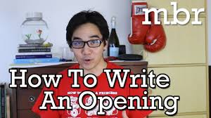 Write A Book Report How To Write A Book Report Tip 4 How To Write An Opening