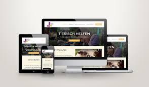 web design lernen webdesign verein für soziales lernen mit tieren ernst media