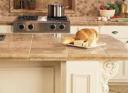 Kitchen Counter Top Ideas Best 25 Tile Kitchen Countertops Ideas On Pinterest With