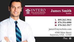Realtor Business Card Template Intero Real Estate Business Cards 21 Intero Real Estate Business