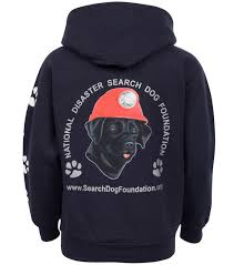 national disaster search dog foundation u2013 classic sdf youth hooded