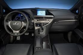 lexus wagon interior 2013 lexus rx 350 f sport first drive automobile magazine