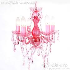 Chandelier For Kids Room by Popular Acrylic Plastic Pink Chandelier For Girls Room Kids Lamp Com