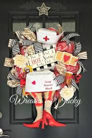 made this for my nurse wreaths pinterest