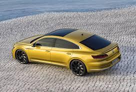 volkswagen coupe models volkswagen arteon review parkers