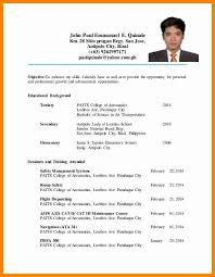 sle resume for ojt tourism students cool sle resume for ojt management students images wordpress