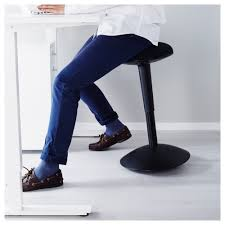 Leaning Chair Standing Desk by Nilserik Standing Support White Vissle Green Ikea