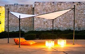 Sail Canopy For Patio Butterfly Gazebo The Shade Sail Kit With Posts
