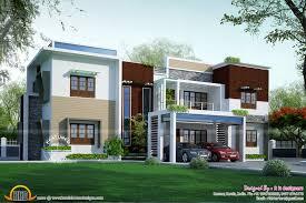 new house design 2017 home designing sqfeet 4 bedroom villa