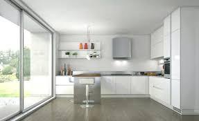 cuisine blanche laqué la cuisine blanche laquace en 35 photos qui vont vous inspirer la