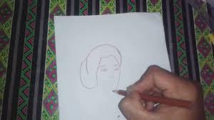 tutorial menggambar orang dengan pensil cara menggambar orang wajah ra kartini youtube