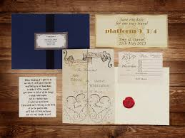 harry potter wedding invitations harry potter wedding invitations