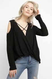 the shoulder black blouse the shoulder tops south moon