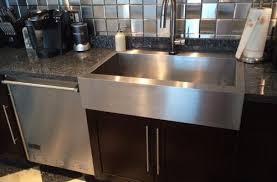 Drop In Farmhouse Kitchen Sinks Beautiful Decoration Undermount Vs Overmount Kitchen Sink