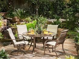 Winston Outdoor Furniture Winston Key West Padded Sling Aluminum High Back Swivel Tilt Chair