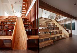 Home Library Furniture by Unique Wooden Office Bookcases Awesome Innovative Home Design