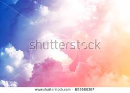 sky pink blue colors abstract background stock photo 306454088