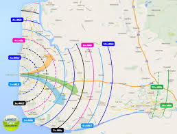 Map Of West Coast Premier Cabs The Home Of Blackpool U0027s Lowest Taxi Fares