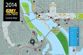 Ohio Elevation Map by Kim Runs Miles With Smiles Course Guide For Army Ten Miler 2014