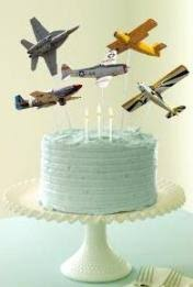 airplane cake topper kids airplane party