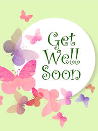 get well soon cards butterflies get well card birthday greeting cards by davia