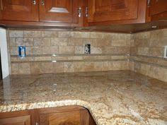 kitchen travertine backsplash tumbled travertine backsplash for the home pinterest