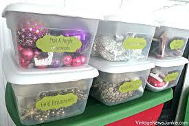 storage bins iris wing lid ornament storage box lowes