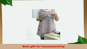 Best Gift For Housewarming Housewarming Chef Apron Gift For Women Side Button Cotton Apron2